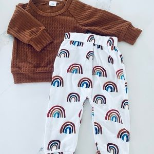 Gender neutral Rainbow outfit - NWOT
